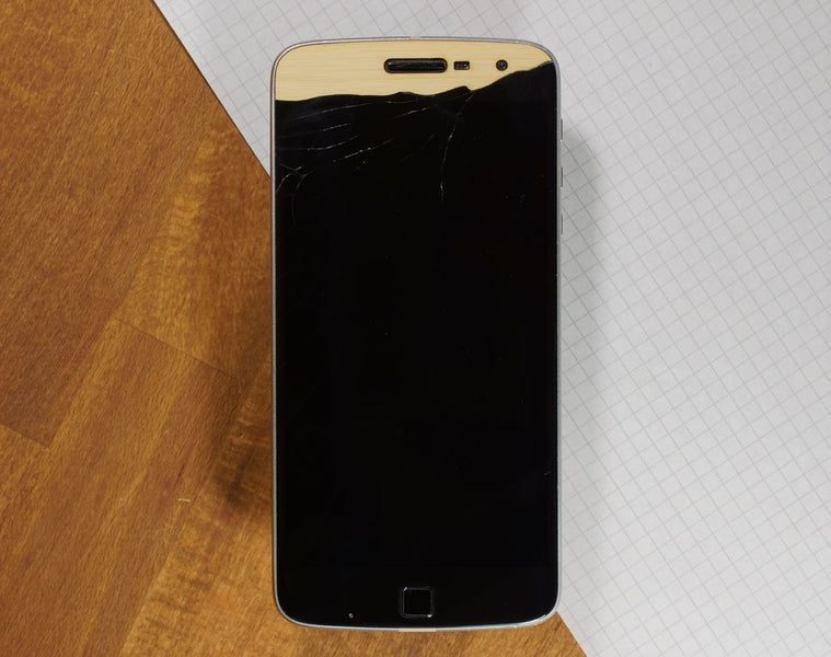 Repairing Your Broken Screen with Wood Veneer