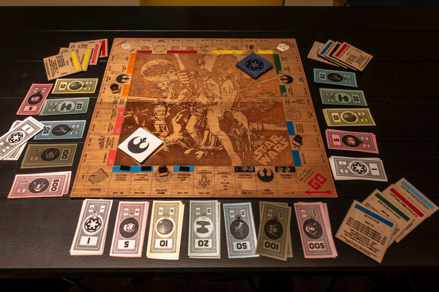 Custom Monopoly Boards