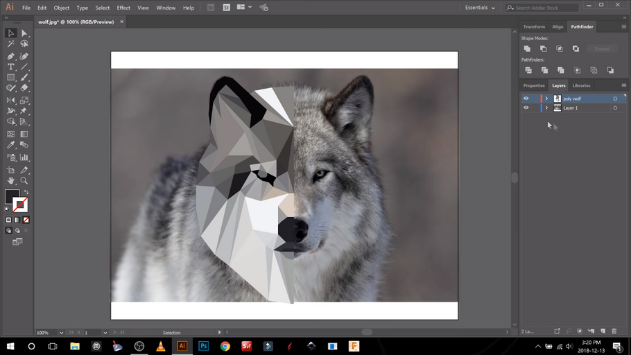 How To Create Low Poly Images From A Photo