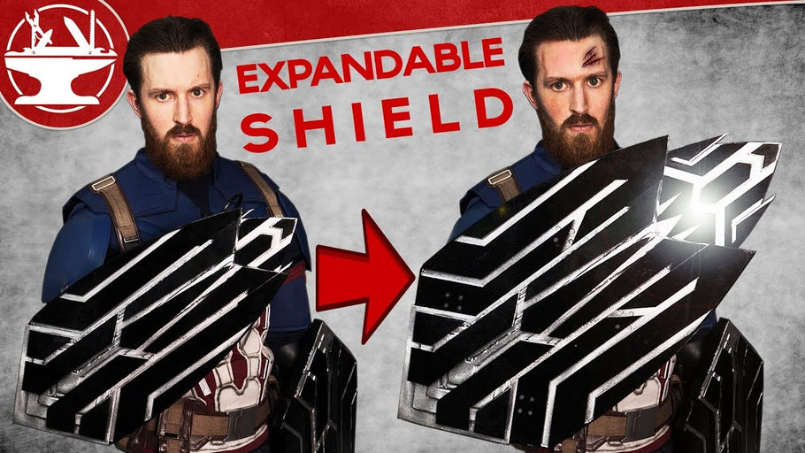 Captain America's Infinity War Shield