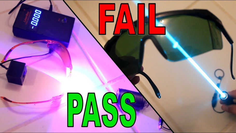 How Safe Are Your Laser Goggles?