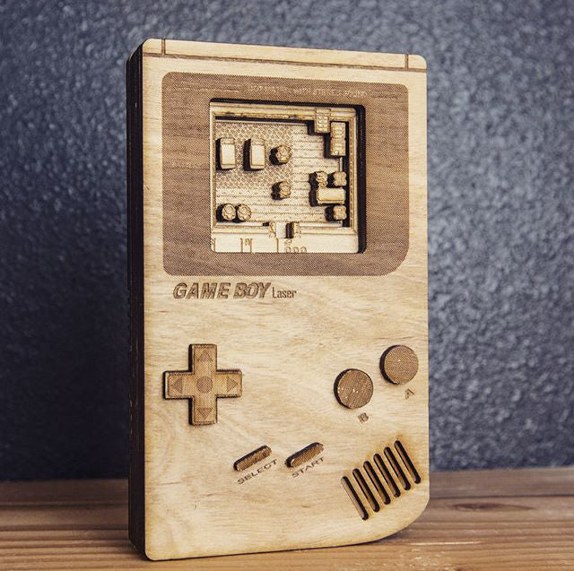 Laser Cut Gameboy Instructable