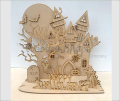 halloween laser cut craft