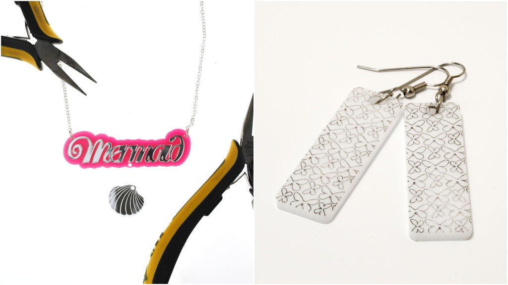 Laser cut jewelry ideas