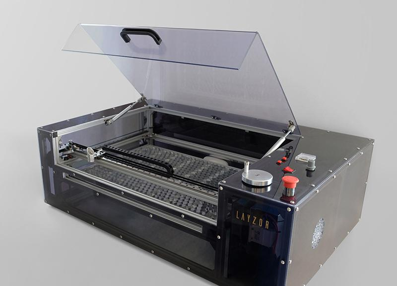 The LAYZOR - K40 laser cutter conversion project
