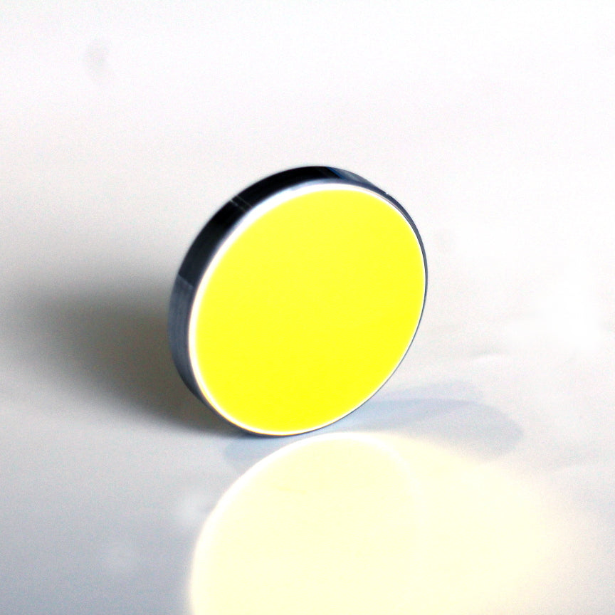 25mm OD Mirror Silicon Si 3mm thickness