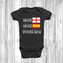50% English 50% Spanish Baby Grow - DizzyKitten