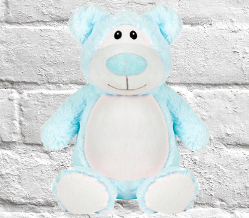 Cubbyford Blue Bear Personalised - DizzyKitten
