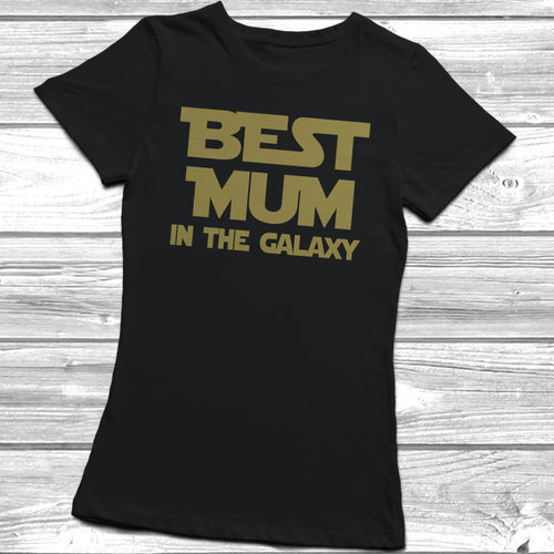 Best Mum In The Galaxy T-Shirt - DizzyKitten