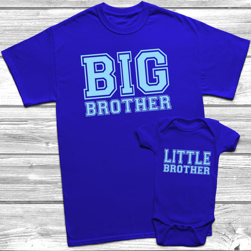 Big Brother Little Brother T-Shirt Baby Grow Set