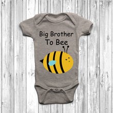 Big Brother To Bee Baby Grow - DizzyKitten