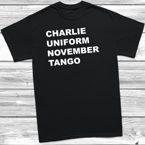 Charlie Uniform November Tango T-shirt