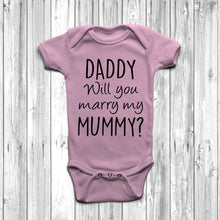 Daddy Will You Marry My Mummy Baby Grow - DizzyKitten