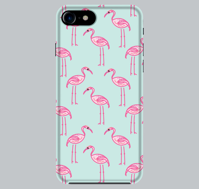 Flamingo Hard Phone Case Full Wrap For iPhone 6/6S 7 Samsung Galaxy s7 s8 - DizzyKitten