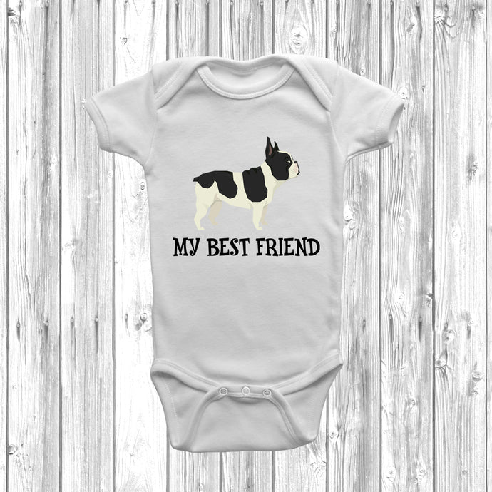 French Bulldog My Best Friend Baby Grow