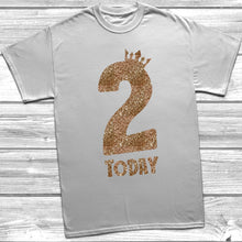Glitter Two Today T-Shirt