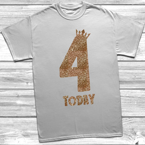 Glitter Four Today T-Shirt
