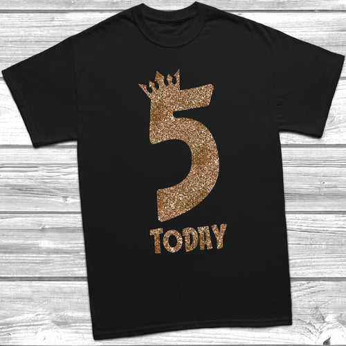 Glitter Five Today T-Shirt
