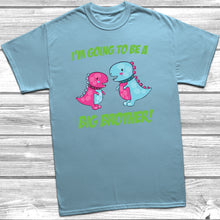 I'm Going To Be A Big Brother Dinosaur T-Shirt