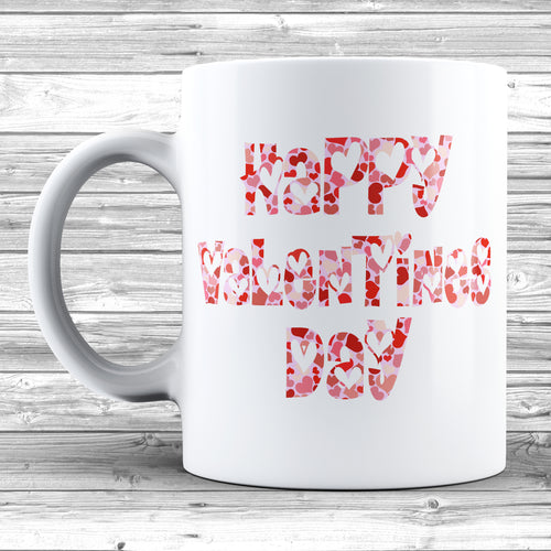 Happy Valentines Day Mug - DizzyKitten