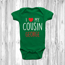 I Love My Cousin Baby Grow