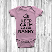 Keep Calm And Call Nanny Baby Grow - DizzyKitten