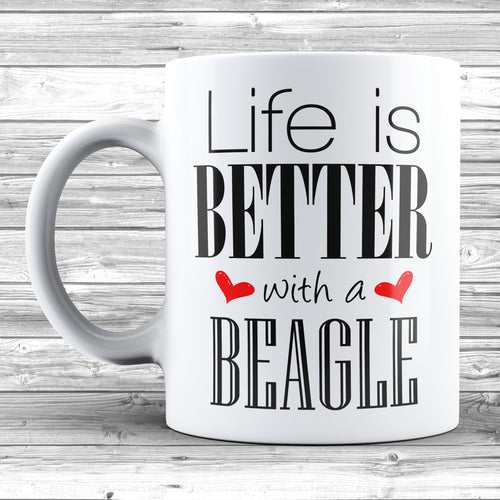 Life Is Better With A Beagle Mug - DizzyKitten