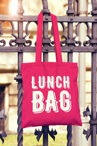 Lunch Bag Tote Bag - DizzyKitten