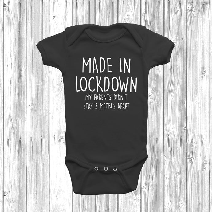 Made In Lockdown Baby Grow