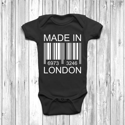 Made In London Baby Grow