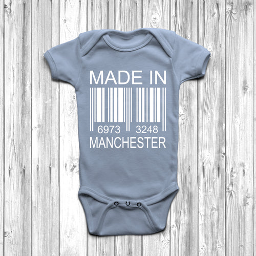 Made In Manchester Baby Grow