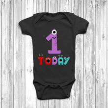 Monster 1 Today Baby Grow - DizzyKitten
