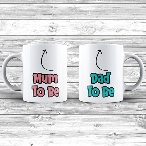 Mum To Be And Dad To Be Gift Mug