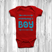 Mummy's Boy Baby Grow - DizzyKitten