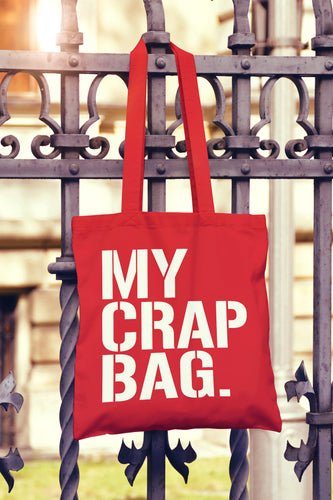 My Crap Bag Tote Bag - DizzyKitten