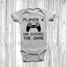 Player 4 Has Entered The Game Baby Grow (Playstation) - DizzyKitten