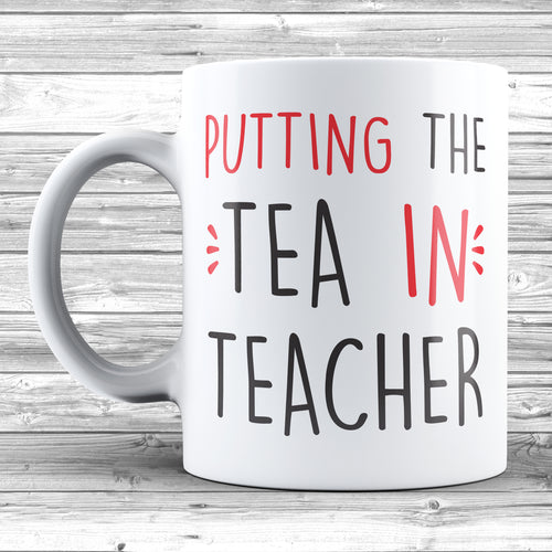 Putting The Tea In Teacher Mug - DizzyKitten