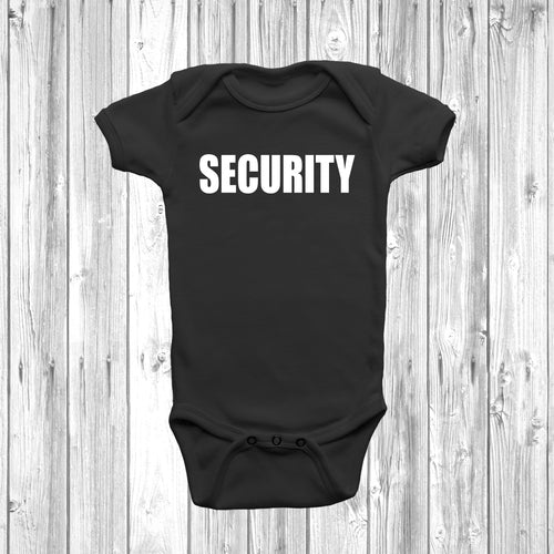 Security Baby Grow - DizzyKitten