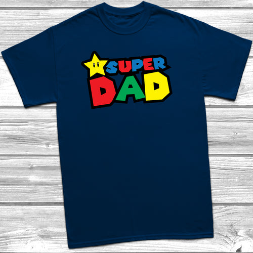 Super Dad Mario T-Shirt
