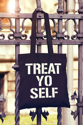Treat Yo Self Tote Bag - DizzyKitten
