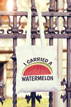 I Carried A Watermelon Tote Bag - DizzyKitten
