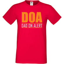 DOA Dad On Alert T-Shirt - DizzyKitten