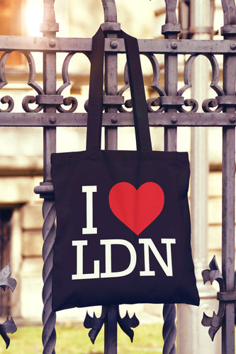 I Love Heart London Tote Bag - DizzyKitten