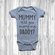 Mummy Will You Marry Daddy Baby Grow Marriage Proposal Idea