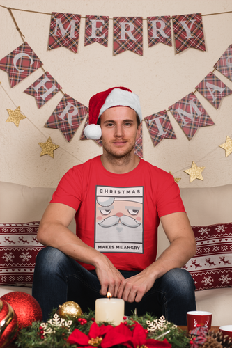 Christmas Makes Me Angry T-Shirt