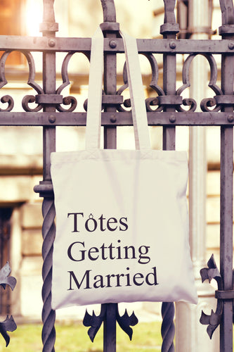 Totes Getting Married Tote Bag - DizzyKitten