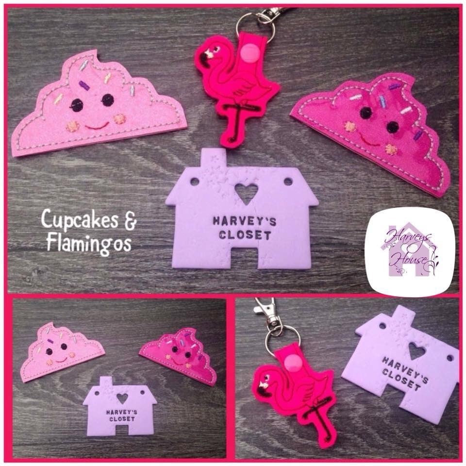 Cupcake Bookmarks - Harveyshouse