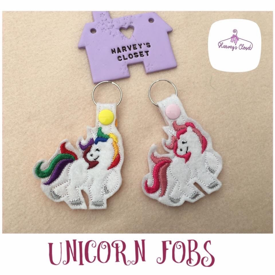 Unicorn Keyrings - Harveyshouse