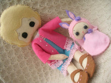 Personalised Doll & Binky - Harveyshouse handmade craft