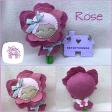 Flower Fairy Rose Collectable Doll - Harveyshouse handmade crafts